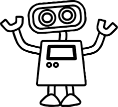 Small Picture Cute Robot Coloring Pages In Page diaetme