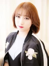 韓国タンバルモリシースルーバングでオルチャン風の髪型に 髪型 ボブ