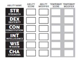 dnd 3 5 character sheet how to d d the character sheet