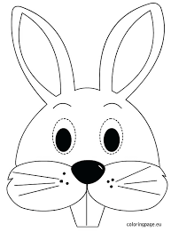 Coloring Easter Bunny Drawings Color Coloring Pages Easter Bunny