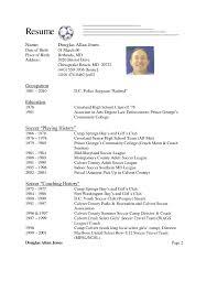 Soccer Resume Example Soccer Coach Resume Sample Shalomhouseus 3