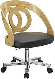 retro office chairs. Jual Retro Office Chair Black Seat - Walnut Or Oak Image 4 Chairs