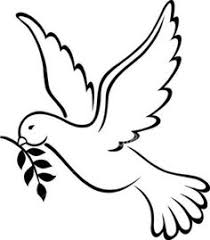 doves clipart black and white. Exellent Black Pictures Panda Free Images Coloring Pages For Dove Clipart  And Doves Clipart Black White A