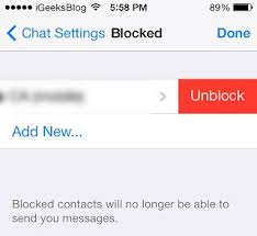 How To Unblock Contacts Iphone