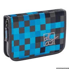 <b>Пенал All Out</b> 138558 Blue Pixel 1 отделение (1059658) | mltrade.ru