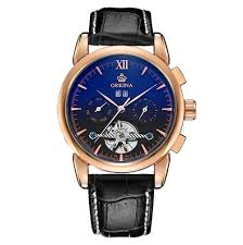 popular coloured watches for men buy cheap coloured watches for orkina men watches 2017 flying tourbillon automatic wristwatch leather band self wind clock