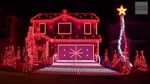 Best Christmas Lights Ever The Best Christmas Lights Ever Done In Tune With Music