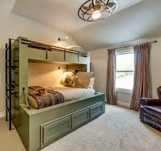 over the bed lighting. Bunk Bed Lighting Ideas. Ideas Bedroom Farmhouse With Green Beds Ceiling Fan Over The
