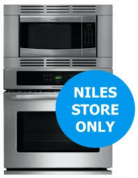 24 wall oven microwave combo stainless steel 3 piece self cleaning wall oven microwave combo