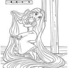 Small Picture Rapunzel and flynn rider coloring pages Hellokidscom