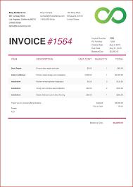 Simplereelance Designer Invoice Template Great Templatesree Creative