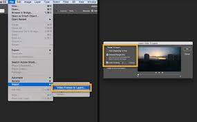 In fact, as long as each frame exists as a separate layer in photoshop, the animation/timeline palette can be used to create the gif. How To Make An Animated Gif In Photoshop Adobe Photoshop Tutorials