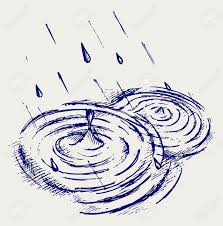 how to draw raindrop in puddle google search