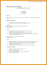 office job resume sample systems administrator resume examples  administrative objective for admin job resume template .