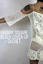 Crochet Swimsuit Cover Up Pattern