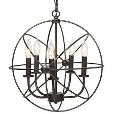 industrial lighting chandelier. Industrial Vintage Lighting Ceiling Chandelier 5 Lights Metal Hanging Fixture - Amazon.com