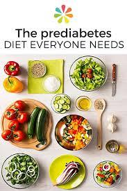 Diet Chart For Prediabetes The Prediabetes Diet Everyone Needs Diabetic Meal Plan
