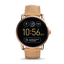 Gen 2 Smartwatch - Q Wander Light Brown Leather