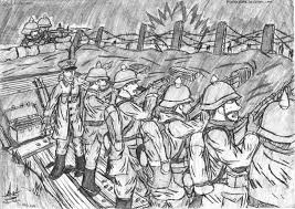 trench warfare essay wwi essay ww essays unpublished photos of  german trenches wwi drawings from tranches century of ier s trench warfare diagram google search