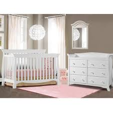 baby crib and dresser set. delighful set storkcraft 2 piece nursery set  venetian convertible crib and avalon 6  drawer dresser in white and baby b