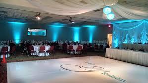 ceiling up lighting. perimeter uplighting ceiling draping and white dance floor hilton garden inn st charles up lighting