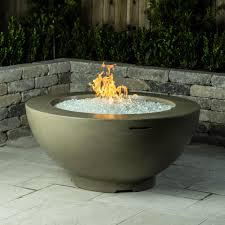 natural gas fire bowl.  Bowl American Fyre Designs 48Inch Natural Gas Fire Bowl  Smoke Throughout