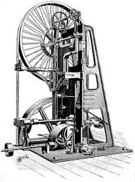 19th century wood bandsaw