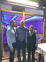 Proud husband father and grandfather. Me My Colleague And Jimmy Carter Arsenal Footballers In Our Restaurant Picture Of The Rajdoot Hampstead London Tripadvisor