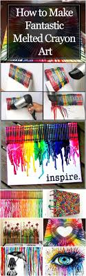 How to Make Fantastic Melted Crayon Art - Crafting Is My Life