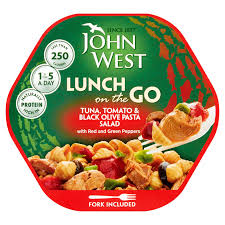 How Many Syns In John West Light Lunch John West Lunch On The Go Tuna Tomato Black Olive Pasta