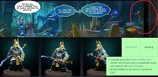is the cm ww comic hinting for new cosmetic items some of the