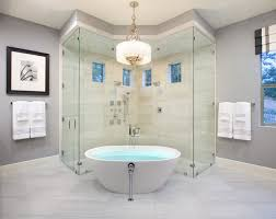 Contemporary Bathroom by Mary DeWalt Design Group