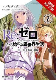 re zero vol 2 manga