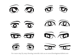 how to draw anime eyes step by step for beginners. Exellent Eyes Learn How To Draw Anime Eyes  Male Eyes Step By  Drawing Tutorials Throughout To By For Beginners W
