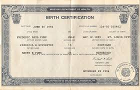 Birth Certificate - What It Is [Archive] - Forums