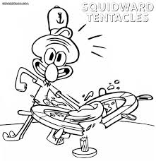 large size of coloring pages sing wallpaper pictures to enchanting squidward