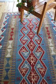 4 9 x 7 4 turkish kilim rug red