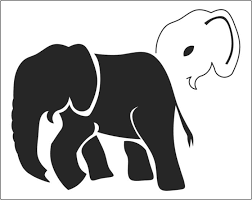 Elephant Pumpkin Carving Pattern Stunning Elephant Stencils Are Available From The Stencil Warehouse