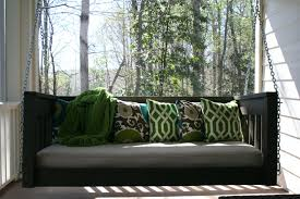 ... Hanging Daybed Porch Swing Plans Diy Cushions: Full Size ...