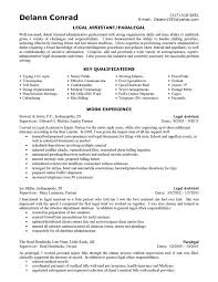 Objective For Legal Assistant Resume Legal Secretary Resume TGAM COVER LETTER 53