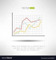 Economic Chart Economic Finance Graphics Chart Icon Market Sale