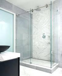 the shower door