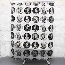 vintage shower curtain. Vintage Shower Curtain