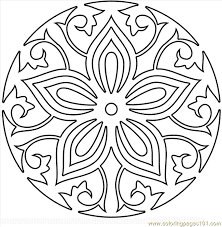 Mandala Coloring Pages Pdf Free Printable Coloring Page Mandala7