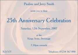 personalized happy wedding anniversary invitation cards and invites