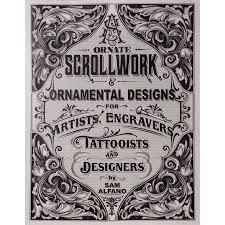 Ornamental Designs Photo Book Ornate Scrollwork Ornamental Designs For Artists Engravers