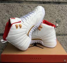 jordan shoes 12 red. 2017-air-jordans-12-retro-cny-white-red- jordan shoes 12 red y
