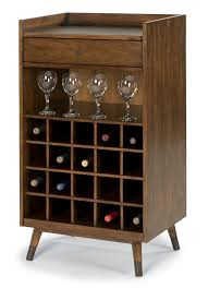 modern wine rack furniture. Gemini Mid Century Modern Wine Rack With Bar Accessory Drawer - Rotmans Worcester, Boston, MA, Providence, RI, And New England Furniture A