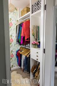 completely diy closet on a budget