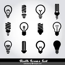 vector square blue icon lighting bulb. vector square blue icon lighting bulb set e flmb in image t